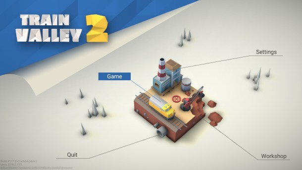 Train Valley 2 | Main Menu