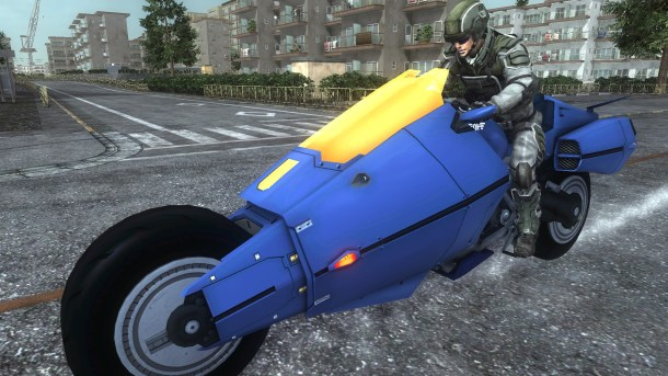 Earth Defense Force 5 | Motorcycle