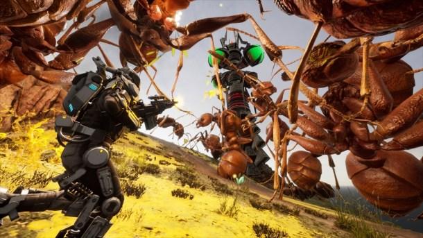 EDF Iron Rain | Giant ants