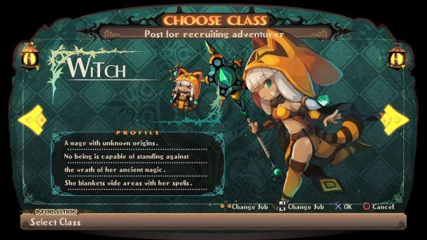 Lapis X Labyrinth | Class