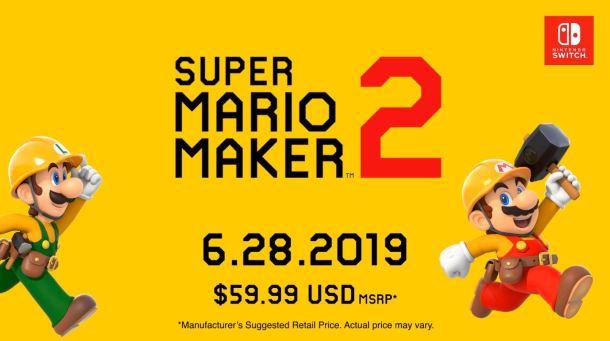 Super Mario Maker 2 | Release Date