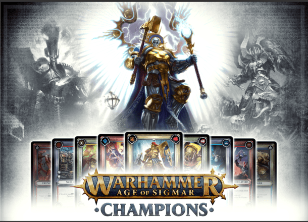 Warhammer Age of Sigmar: Champions | title