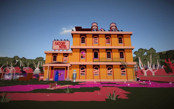 YIIK   Factory Hotel