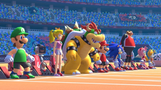 Mario & Sonic At The Olympic Games: Tokyo 2020 | Track