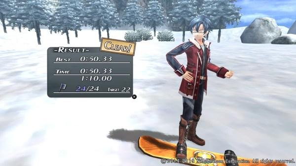 Cold Steel II | Snowboarding minigame