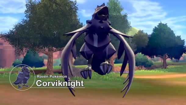 Pokémon Sword and Pokémon Shield | Corviknight