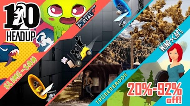 oprainfall   Headup Games 10th Anniv. Switch Sale