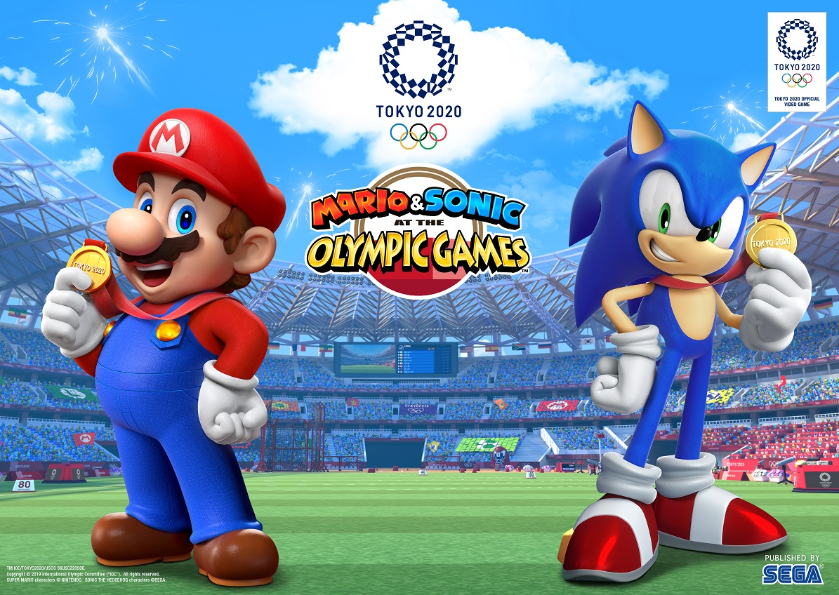 E3 2019 Mario Sonic At The Olympic Games Tokyo 2020 Oprainfall