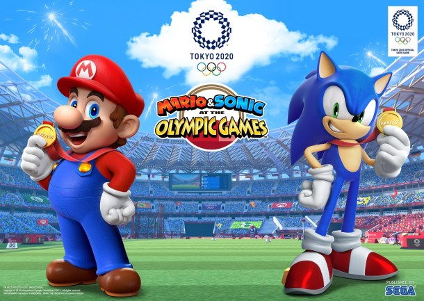 Mario & Sonic At The Olympic Games | Logo