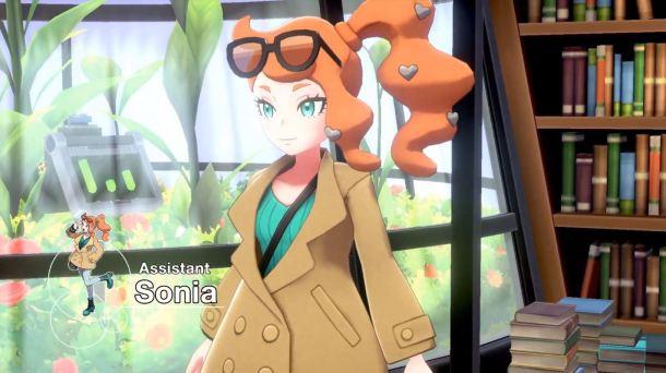 Pokémon Sword and Pokémon Shield | Sonia