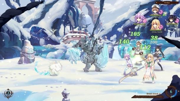 Super Neptunia RPG | Combat