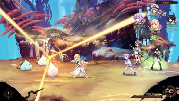 Super Neptunia RPG | Vert Slice