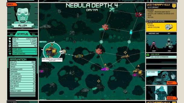 Void Bastards   Space Map