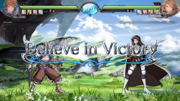 Granblue Fantasy Versus | Match start