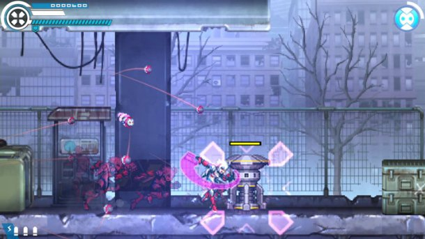Gunvolt Chronicles: Luminous Avenger iX | Targeting