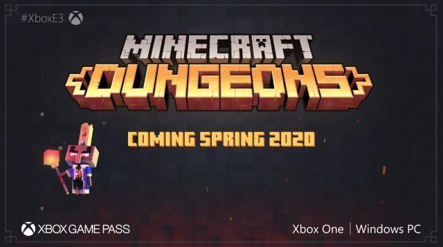 Minecraft Dungeons | E3 2019