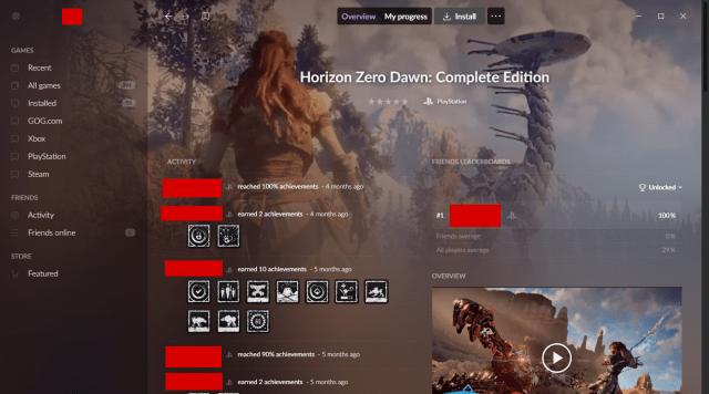 GOG   Galaxy 2.0 Horizon