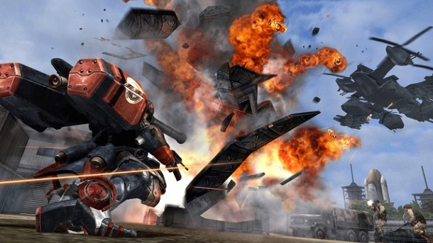 Metal Wolf Chaos XD Screen