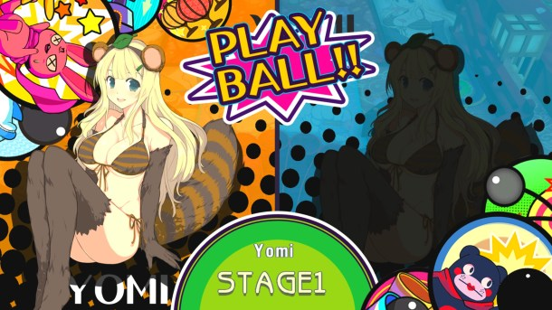 Senran Kagura Peach Ball | Stage Select