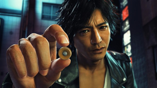 Judgment | Yagami's attorney badge