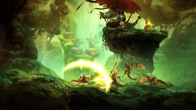 Unruly Heroes   Lizard Combat