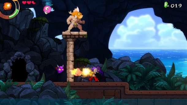Shantae and the Seven Sirens | Fiery Run
