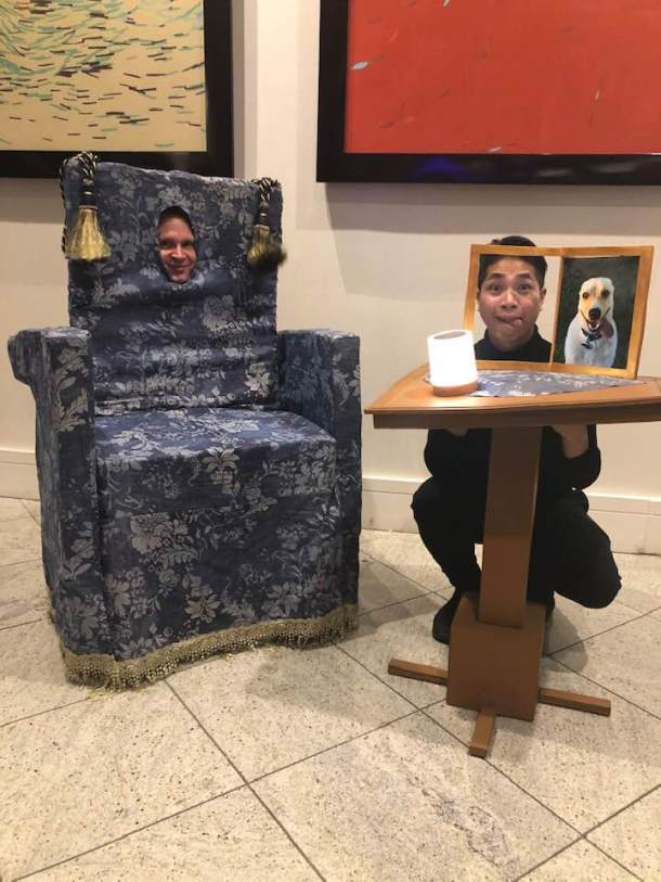 Dragon Con | Chair and Table