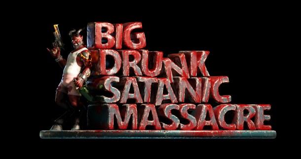 Big Drunk Satanic Massacre | Logo