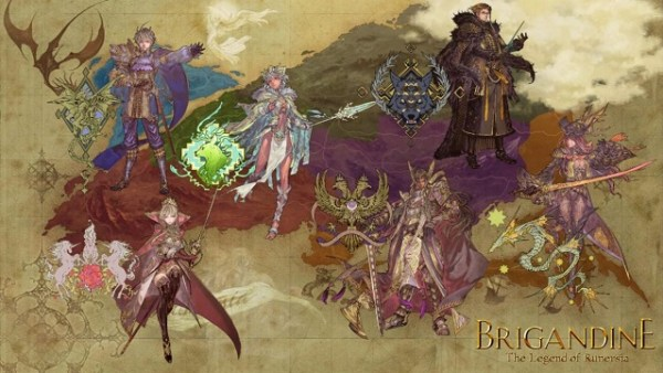 Brigandine: The Legend of Runersia | Official Game Art