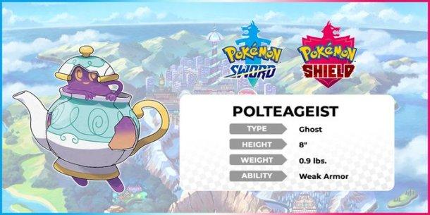Pokemon Sword and Shield   Polteageist