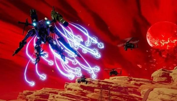 Daemon X Machina | Missile Barrage