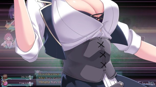 Omega Labyrinth | Bust Up