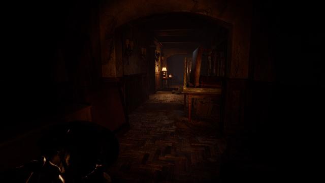 Silver Chains | Dimly Lit Hallway