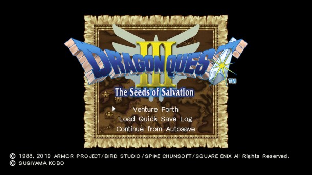 Nintendo Download | DRAGON QUEST III