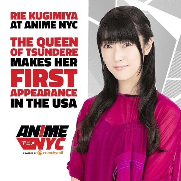 Anime NYC 2019 | Rie Kugimiya