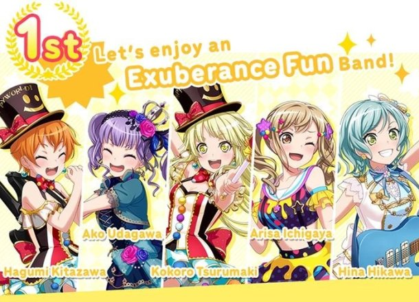 BanG Dream! Girls Band Party! | Exuberance Fun