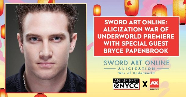 Sword Art Online: Alicization -War of Underworld- | Anime Fest at NYCC 2019