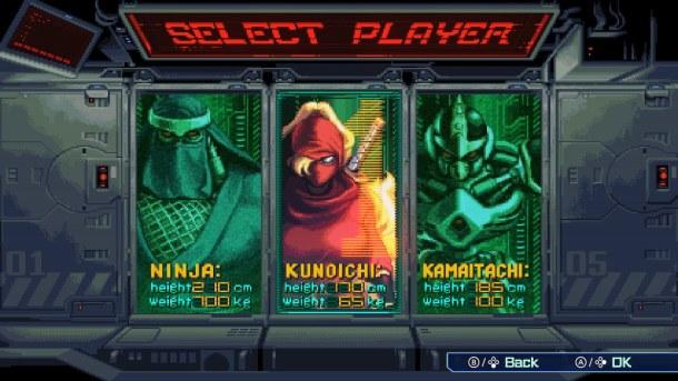 The Ninja Saviors | Character Select