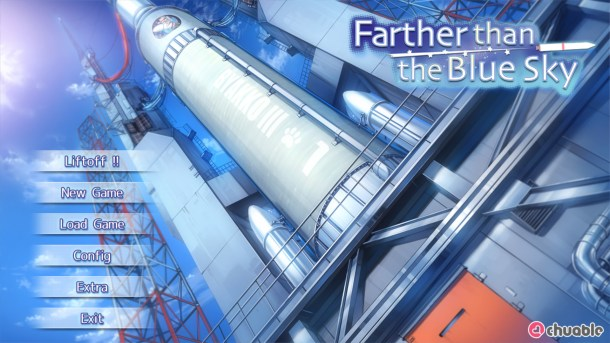 Farther Than the Blue Sky Title Screen