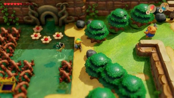 Link's Awakening   Swamp
