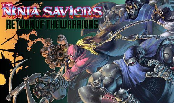 The Ninja Saviors Title