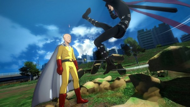 One Punch Man: A Hero Nobody Knows Screen