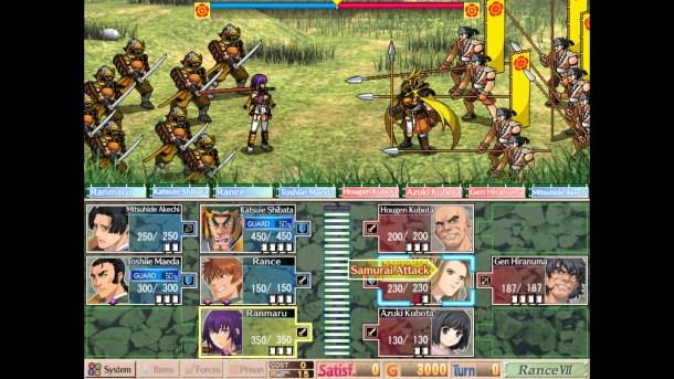 Sengoku Rance | Battles