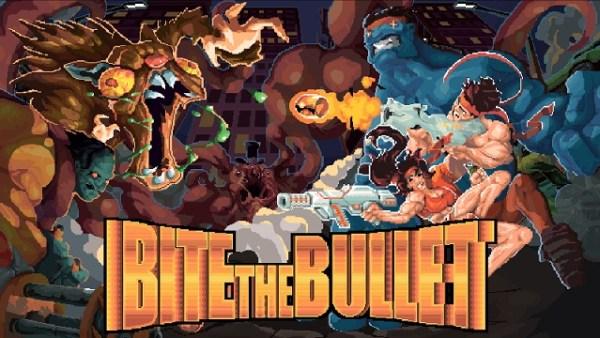 Bite the Bullet | Logo Art