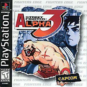 PlayStation Classic | Street Fighter Alpha 3 Box Art