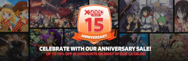 oprainfall | XSEED 15th Anniversary