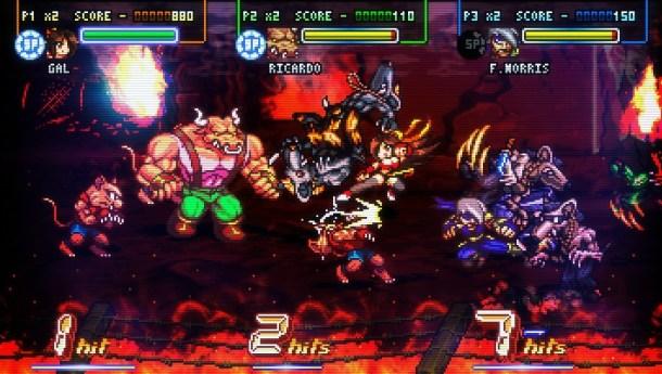 Fight 'N Rage   Gameplay