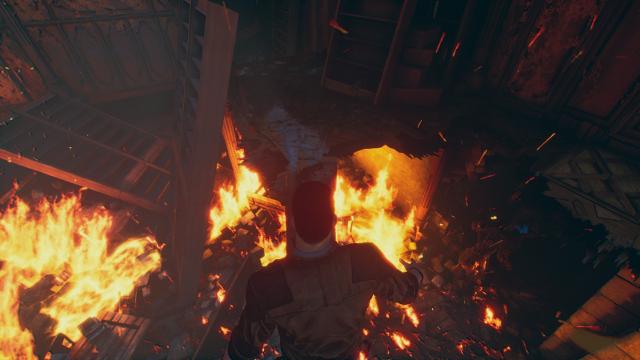 Devil's Hunt | Crossing Beam over Fire