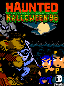 Haunted Halloween 86 | cover