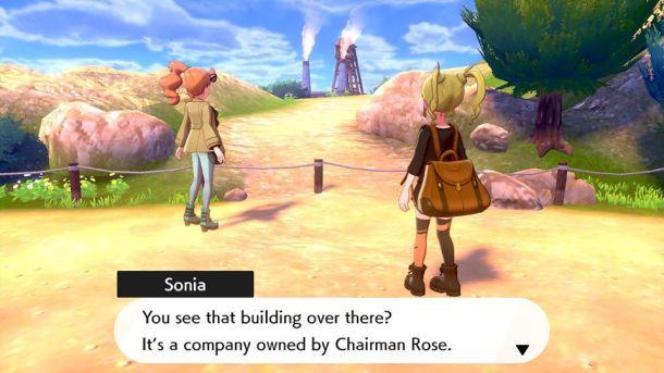 Pokémon Sword | Sonia